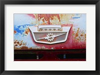 Framed Vintage Lighten Bolt Grill