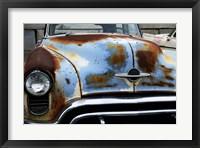 Framed Vintage Oldsmobile Front Grill