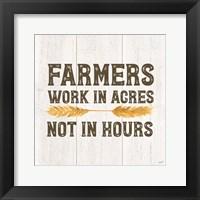 Framed Farm Life VIII-Acres