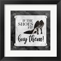 Framed Fashion Humor V-Shoes Fit