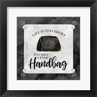 Framed Fashion Humor X-Basic Handbag