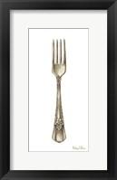 Framed Vintage Tableware I-Fork