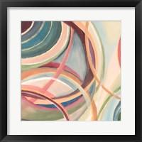 Framed Overlapping Rings I