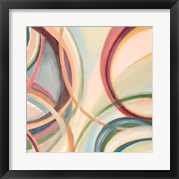 Overlapping Rings II Framed Print