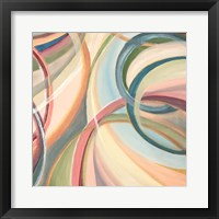 Overlapping Rings III Framed Print