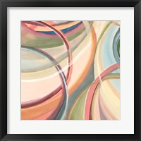 Overlapping Rings IV Framed Print