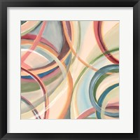 Overlapping Rings V Framed Print