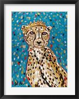 Framed Queen Cheetah