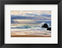 Framed Beach at Big Sur