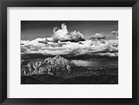 Framed View of the Peaks