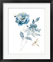 Blues of Summer IV Gilded Framed Print