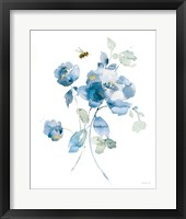 Blues of Summer III Gilded Framed Print