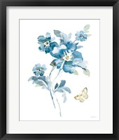 Blues of Summer I Gilded Framed Print