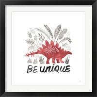 Framed Dino Inspiration III