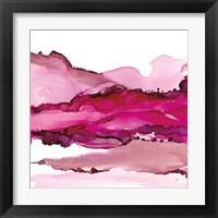 Pinkscape I Framed Print