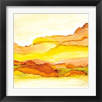 Yellowscape I Framed Print