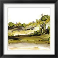 Greenscape II Framed Print