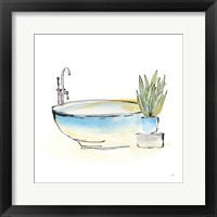 Tub VII Framed Print