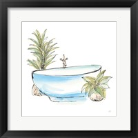 Tub IV Framed Print