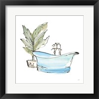 Tub II Framed Print