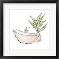 Neutral Tub VI Framed Print