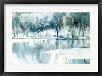 Framed Blue Reflections