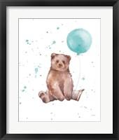 Framed Festive Bear