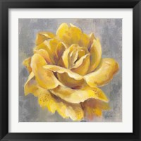Yellow Roses I Framed Print