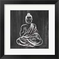 Framed Buddha Gray
