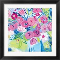 Spring Burst II Framed Print