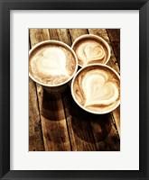 Framed Love in a Latte