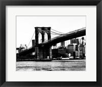 Framed Bridge of Brooklyn BW II