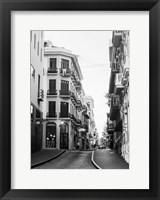 Framed Viejo San Juan I