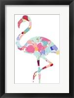 Framed Flamingo Beauty
