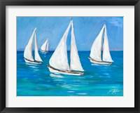 Framed Sailboats I