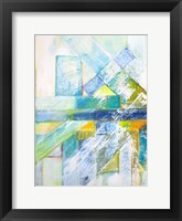 Summerview Abstract  I Framed Print