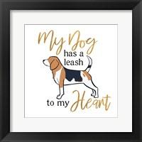 Framed Puppy Positive I