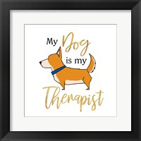 Framed Puppy Positive V