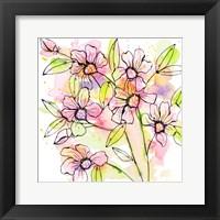 Framed Splash of Beauty Florals