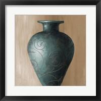 Blue Vessel I Framed Print