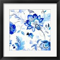 Capri Floral II Framed Print