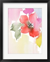 Modern Fleur II Framed Print