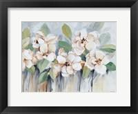 Framed Modern Fleurs
