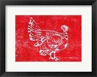 Framed Country Turkey