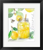 Framed Bee-Friend The Lemons and Lemonade