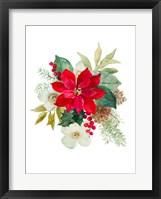 Blooming Poinsettia II Framed Print