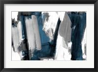Silver And Dark Rhythm I Framed Print