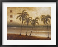 Tropical Escape I Framed Print