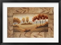 Luminous Vistas II Framed Print