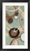 Inside Turquoise II Framed Print